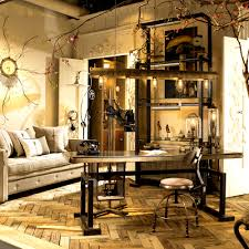 apartmentsalluring living room furniture tribecca home myra vintage industrial chic rustic style chairs sofa chic industrial furniture