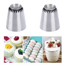 <b>Stainless steel Sultan Ring</b> Cookies Mold Piping Nozzles Russian ...