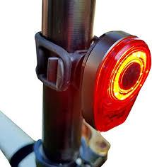 100 Lumen <b>Waterproof LED</b> Cycle <b>Rear</b> Lamp 6 Mode USB ...