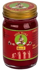 Beelle Balm Red <b>Бальзам для массажа с</b> сильным согревающим ...