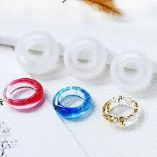 <b>3PCS</b> 16/17/18mm <b>Assorted</b> Silicone <b>Ring</b> Mold For Making Resin ...