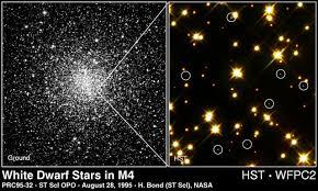 <b>White</b> Dwarf Stars in <b>M4</b> | ESA/Hubble