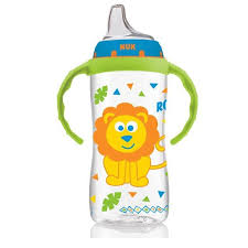NUK, <b>Large Learner Cup</b>, <b>9</b>+ Months, Jungle Boy, 1 Cup, 300 ml ...
