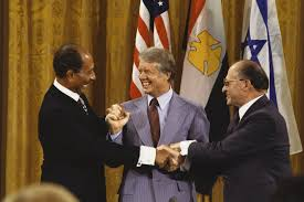 Image result for CARTER WITH ISRAELI LEADER AT CAMP DAVID PHOTO