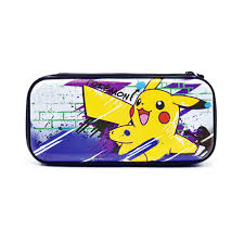 Защитный <b>чехол Hori Premium vault</b> case (Pikachu) для Switch ...