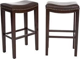 Amazon.com: Christopher Knight Home Avondale Backless Bar ...