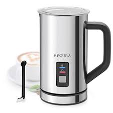 Secura <b>Automatic Electric Milk Frother</b> and Warmer (500ml ...