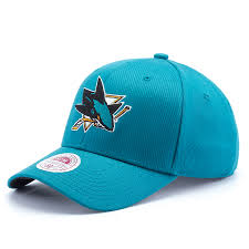 <b>Бейсболка Mitchell & Ness</b> Nhl <b>San</b> Jose Sharks Stretch Wool Fitted ...