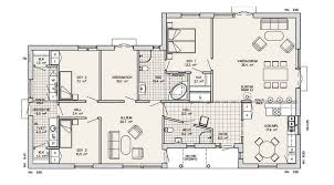 Single Story Contemporary House Plans  modern one story floor    Single Story Modern House Floor Plans