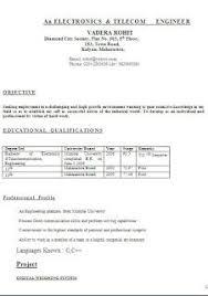 best resume title examples Comites Zurigo