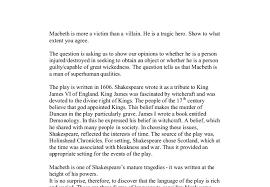 macbeth tragic hero or villain essay   adorno essay on wagnermacbeth tragic hero essay outline