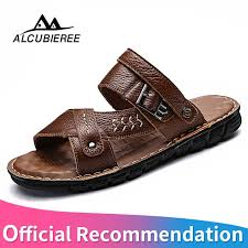 Detail Feedback Questions about <b>Summer Sandals Men Leather</b> ...