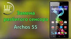 <b>Archos</b> 55 замена сенсора, тачскрина (полная разборка ...