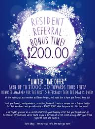 a referral flyer i made for our current residents refer a friend auburn heights apartments pontiac mi resident referral bonus incentive