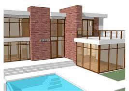 Modern Home Blueprints   Modern Housemodern home blueprints modern house floor