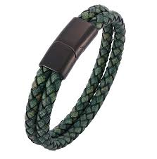 Best Offers double <b>braided leather rope</b> bracelet list and get free ...