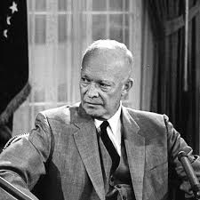 「President Dwight D. Eisenhower sends federal troops to enforce the court order and escort the 'Little Rock Nine' to class.」の画像検索結果