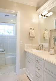 ideas bathroom tile color cream neutral: neutral bathroom paint color benjamin moore berber white  and love the neutral floor
