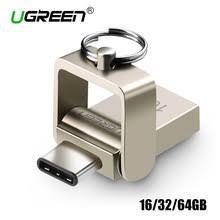 Ugreen <b>USB Flash Drive</b> 16GB <b>32GB</b> 64GB Metal <b>USB</b> 3.0 Type C ...