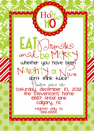 custom designed christmas party invitations eat drink and be merry custom designed christmas party invitations eat by marcylauren