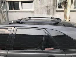 <b>Багажные поперечины</b> Erkul на рейлинги Toyota RAV 4(чёрные)