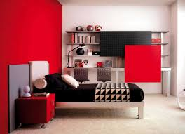 Red Color Bedroom How To Simply Decorate Your Red Bedroom Walls