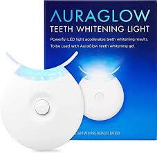 AuraGlow Teeth Whitening Accelerator Light, 5X More ... - Amazon.com