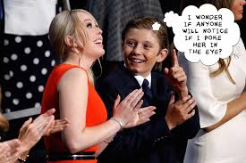 Image result for barron trump 2016