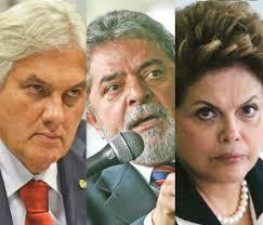 Resultado de imagem para Lula Dilma e Delcidio fotos