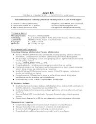 interesting resume example for network administrator job position impressive network administrator resume template sample featuring technical skills and background experience a part of under