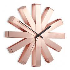 Купить <b>Часы настенные RIBBON медь</b> 118070-880 за 4900 руб ...