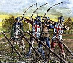Image result for 100 years war images