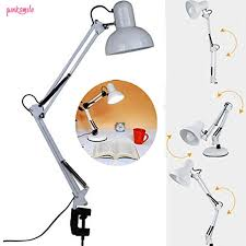 <b>E27 LED</b> Table Light Swing Arm Bedside Lamp Classic Lighting ...