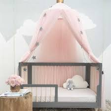 <b>Baby Bed Tent Infant</b> Hairball Round Hung Dome Outdoor Toddler ...