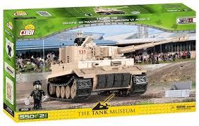 Купить <b>Конструктор Cobi Small Army</b> World War II 2519 Танк Tiger ...