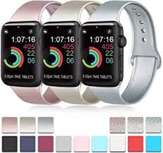 Pack 3 Compatible with Apple Watch Band 38mm ... - Amazon.com