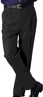 38 Edwards Garments <b>Mens Business Casual</b> Pleated Pant SAND ...