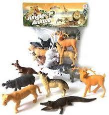 "<b>Набор фигурок Shantou Gepai</b> ""Jungle animal"" 8.5 см 2A008-2 ..."