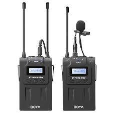 Boya By-Wm8 Pro-K1 Uhf Wireless Lavalier Microphone Kit For Eng ...