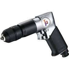 "3/8"" Reversible <b>Air Drill</b> (<b>1800rpm</b>,Keyless) Manufacturer 
