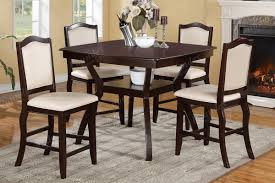 tall dining chairs counter: poundex loading zoom counter height table