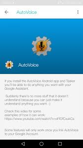 autovoice integration finally makes its way to google home here s once you have enabled this integration you can now start talking to autovoice through your google home check if it is enabled by saying either ok google