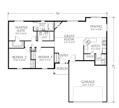 Single Story One Bedroom House Plans   Home Design Mini s And    Ideas About Floor Plans For Single Story Homes Your Inspiration