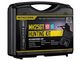<b>Nitecore MH25GT Rechargeable LED Flashlight</b> Hunting Kit | 13 ...