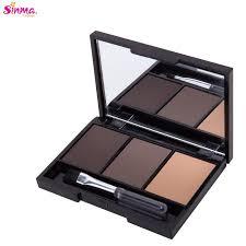 Sinma Max <b>3 Colour Eyebrow</b> Palette Make Up <b>Powder Kit</b> (1/2/<b>3</b> ...