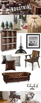rustic style living room clever: rustic industrial living  rustic industrial living
