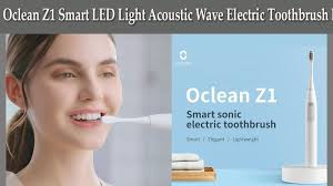 <b>Oclean Z1 Smart LED</b> Light Acoustic Wave Electric Toothbrush ...