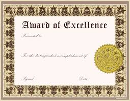 award certificate template samples thogati award certificate template samples impressive award of excellence template gold stamp and