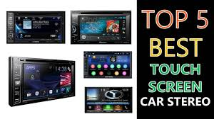Best <b>Touch Screen Car</b> Stereo - YouTube