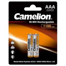 «Аккумуляторы <b>Camelion AAA</b> 1100mAh» — <b>Батарейки</b> и ...
